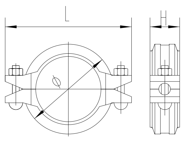 UL FM Rigid Coupling